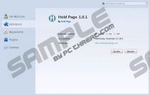 Hold Page